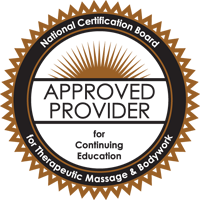 Approved Provider - National Certification Boad for Therapeutic Massage and Bodywork