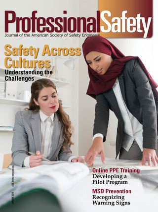 ASSE Professional Safety January 2018 Cover