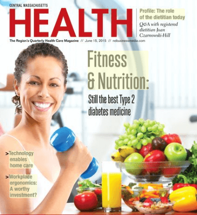 Central Massachusetts Health Magazine - June 2015