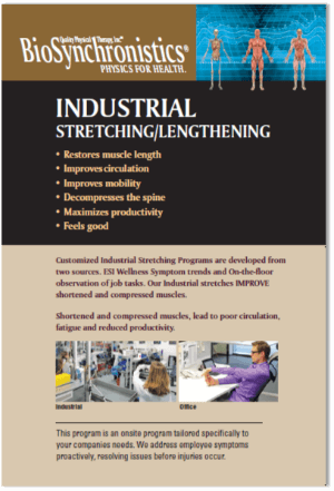 Industrial Stretching and Lengthening Brochure Cover